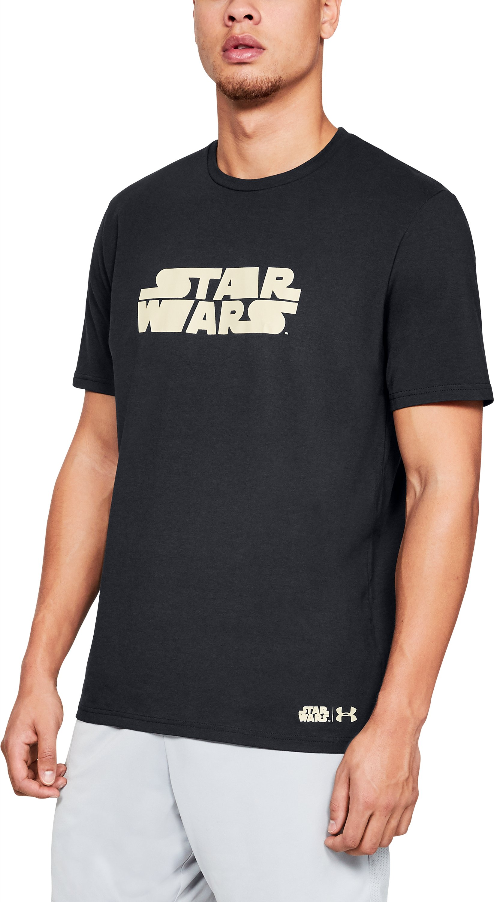 Men's UA Star Wars Stretch T-Shirt 1 Color $21.00