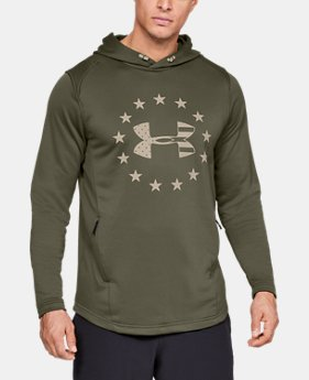 New Arrival Men's UA Freedom Tech™ Terry Hoodie  1  Color Available $55