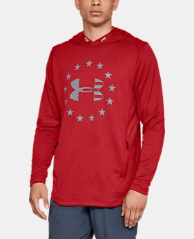 Men's UA Freedom Tech™ Terry Hoodie  1  Color Available $55