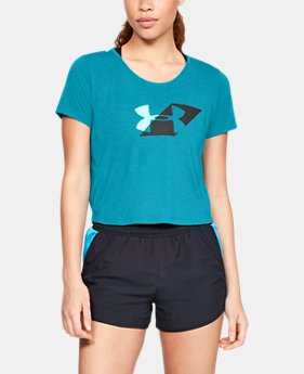 Women's UA Run Graphic Boxy T-Shirt  1  Color Available $26.25