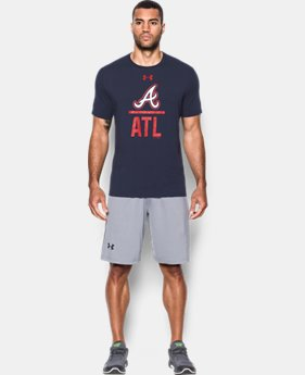 Men's Atlanta Braves Lockup T-Shirt  1 Color $20.24