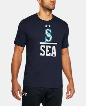 New Arrival Men's Seattle Mariners Lockup T-Shirt   $34.99