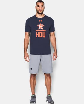 Men's Houston Astros Lockup T-Shirt   $34.99