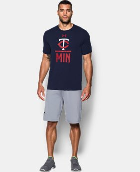 Men's Minnesota Twins Lockup T-Shirt  1 Color $34.99