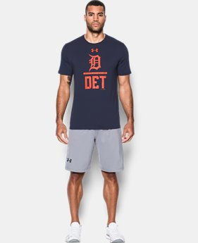 Men's Detroit Tigers Lockup T-Shirt  1 Color $26.99