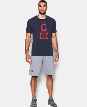 Men's Cleveland Indians Lockup T-Shirt  1 Color $34.99