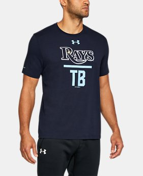New Arrival Men's Tampa Bay Rays Lockup T-Shirt  1 Color $34.99