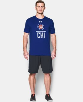 Best Seller Men's Chicago Cubs Lockup T-Shirt  1 Color $34.99