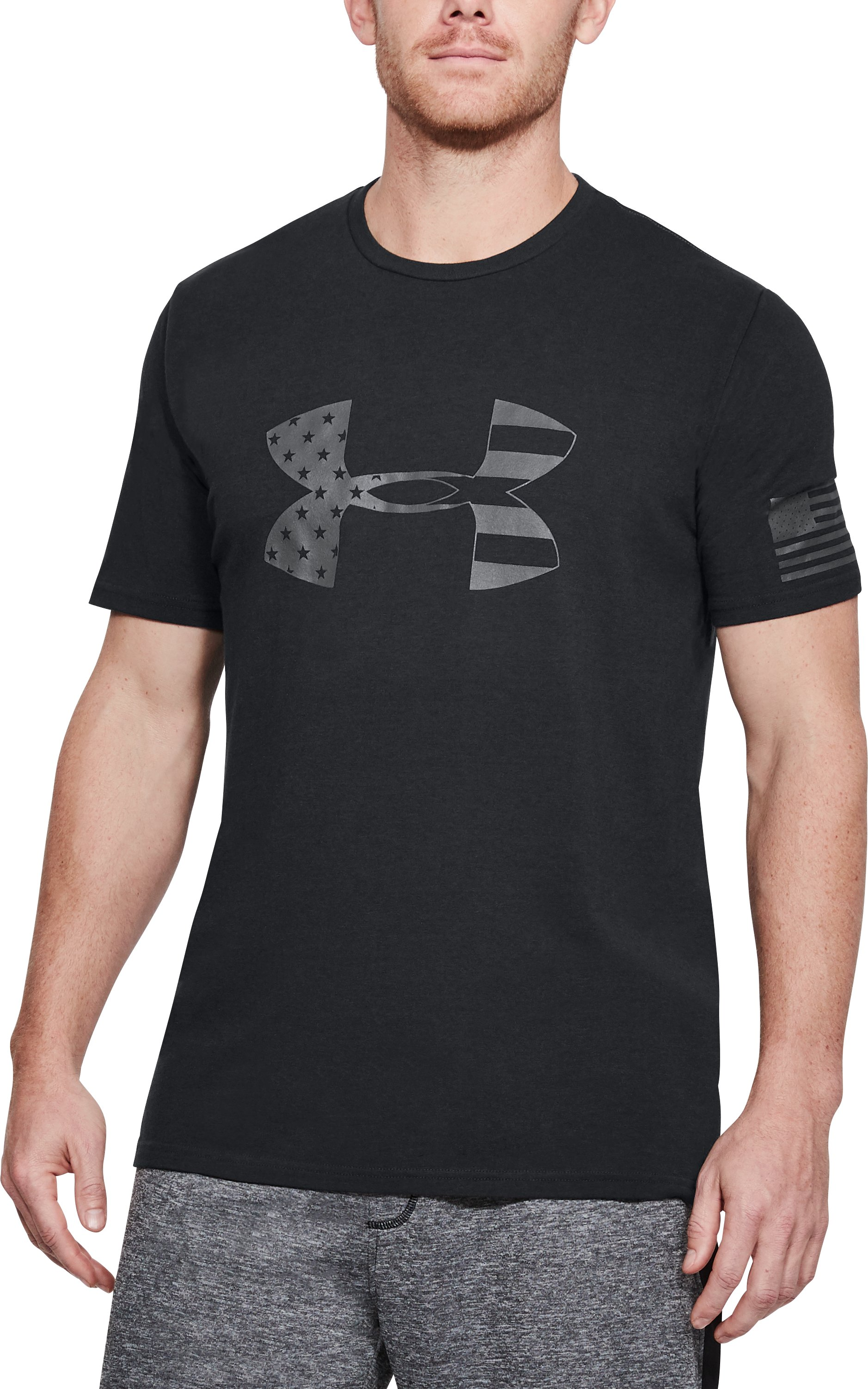 Men's UA Freedom Tonal BFL T-Shirt, Black