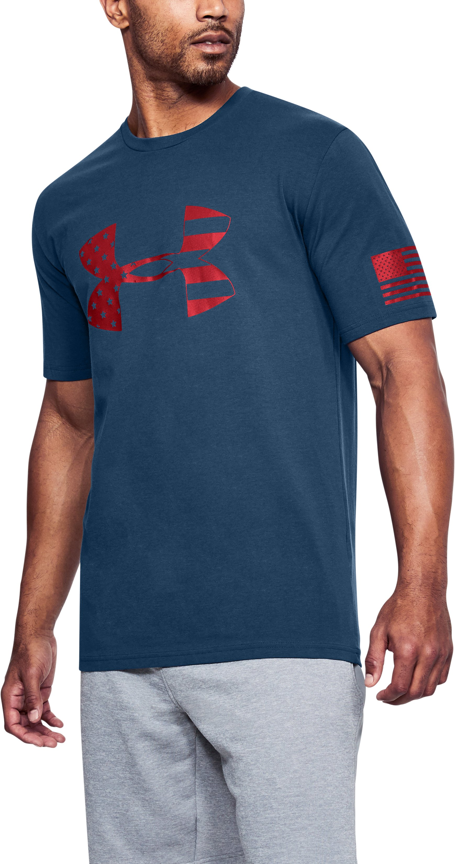 Men's UA Freedom Tonal BFL 2.0 T-Shirt, BLACKOUT NAVY