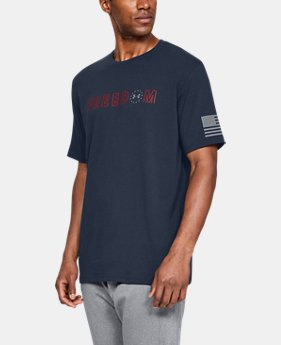Men's UA Freedom Flag Bold T-Shirt  1  Color Available $25