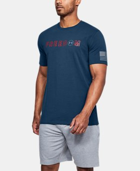 Men's UA Freedom Flag Bold T-Shirt  3  Colors $25