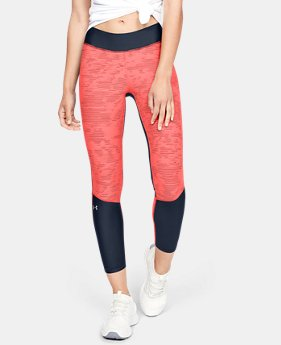 New Arrival  Women's HeatGear® Armour Jacquard Ankle Crop  1  Color Available $60