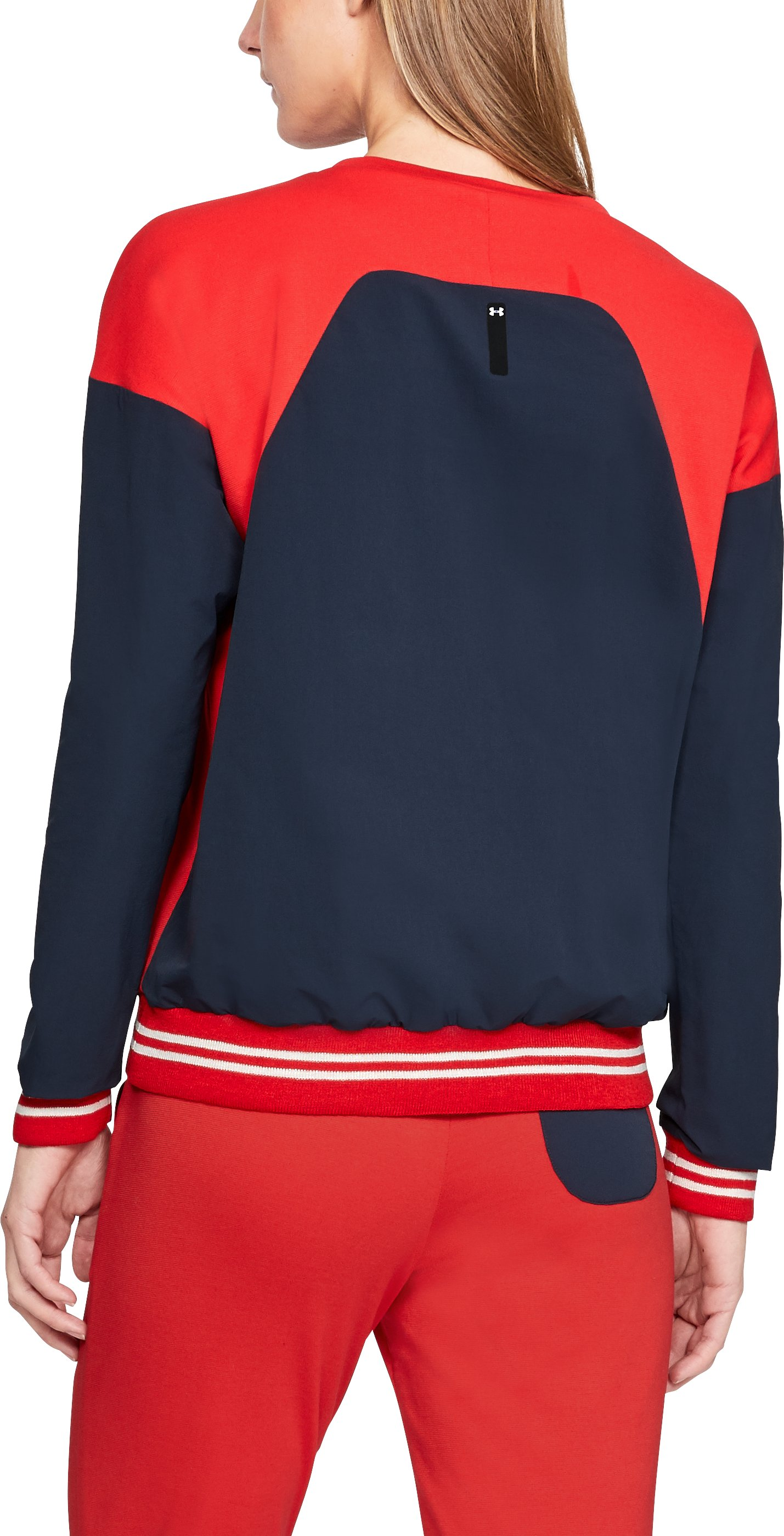 Women's UA Sportswear Sweatshirt Crew, UAS RED CLAY,