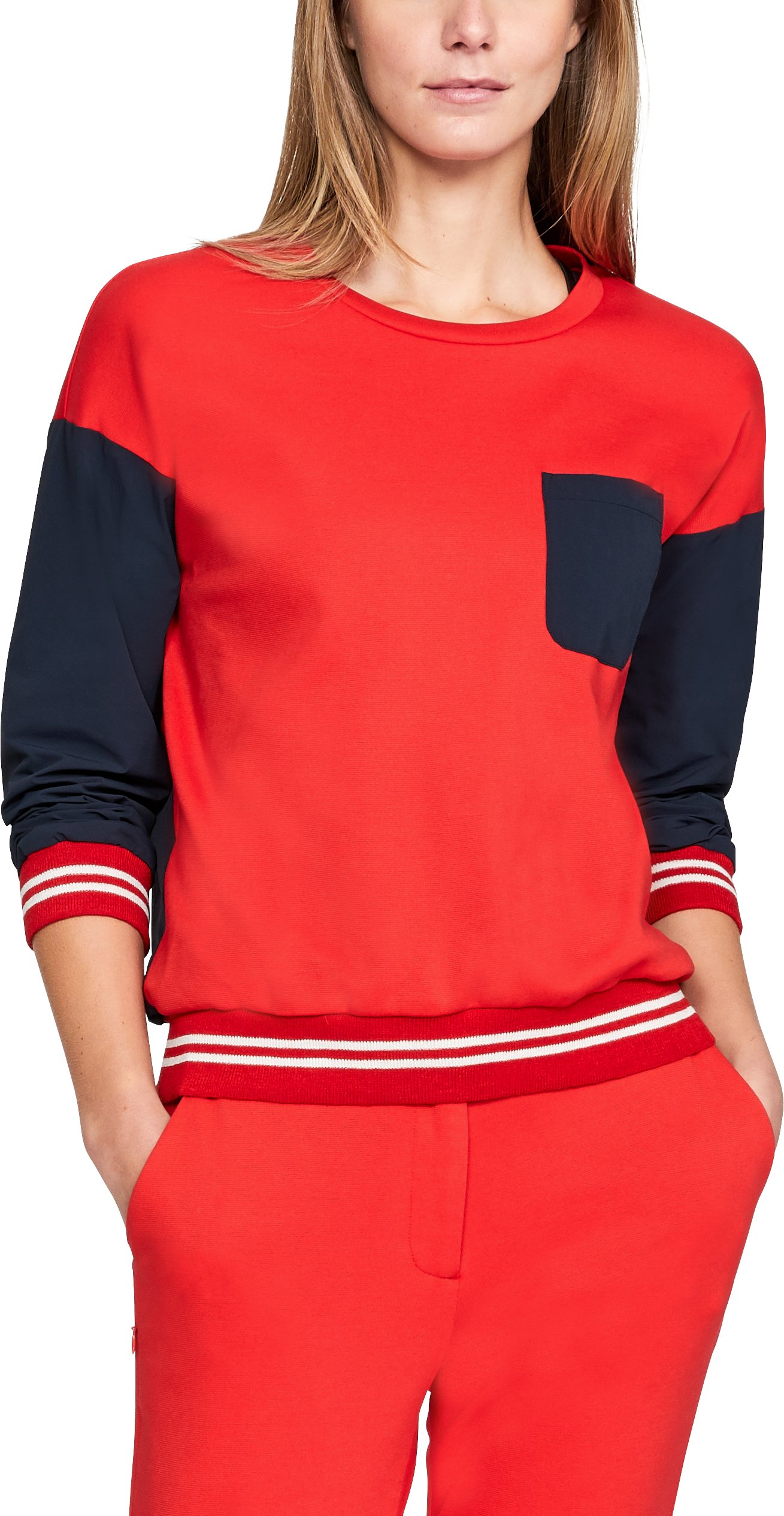 Women's UA Sportswear Sweatshirt Crew, UAS RED CLAY