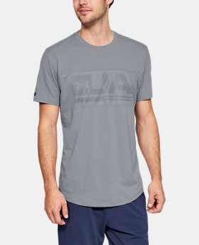New Arrival Men's UA Graphic Mesh T-Shirt  1  Color Available $40