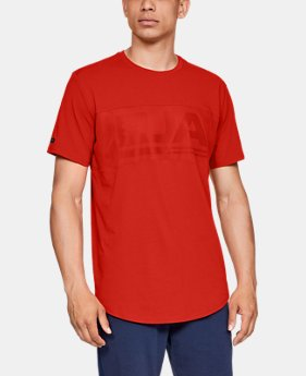 New Arrival Men's UA Graphic Mesh T-Shirt  4  Colors Available $40