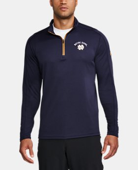 New Arrival Men's Notre Dame ¼ Zip   $69.99