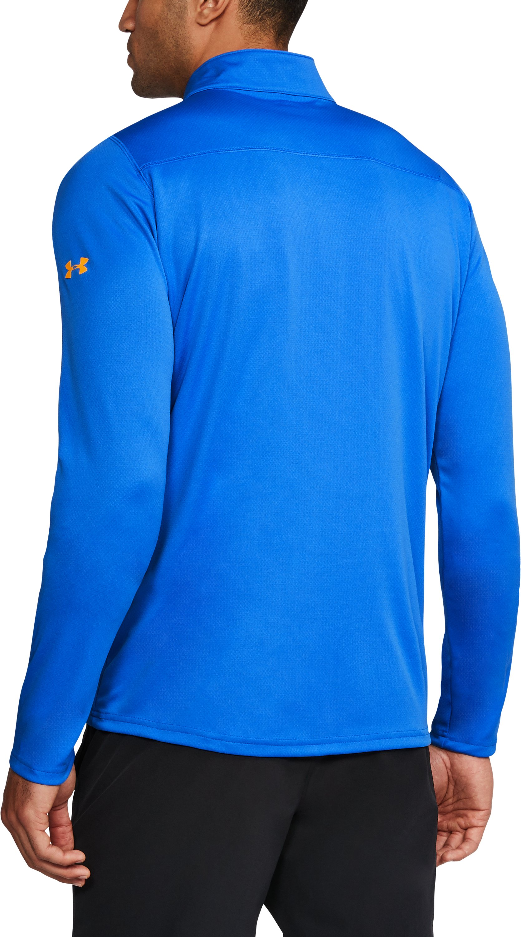 Men's UCLA ¼ Zip, POWDERKEG BLUE,