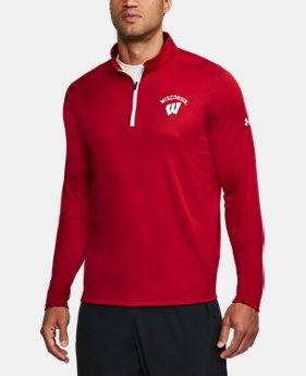 Men's Wisconsin ¼ Zip  1 Color $69.99