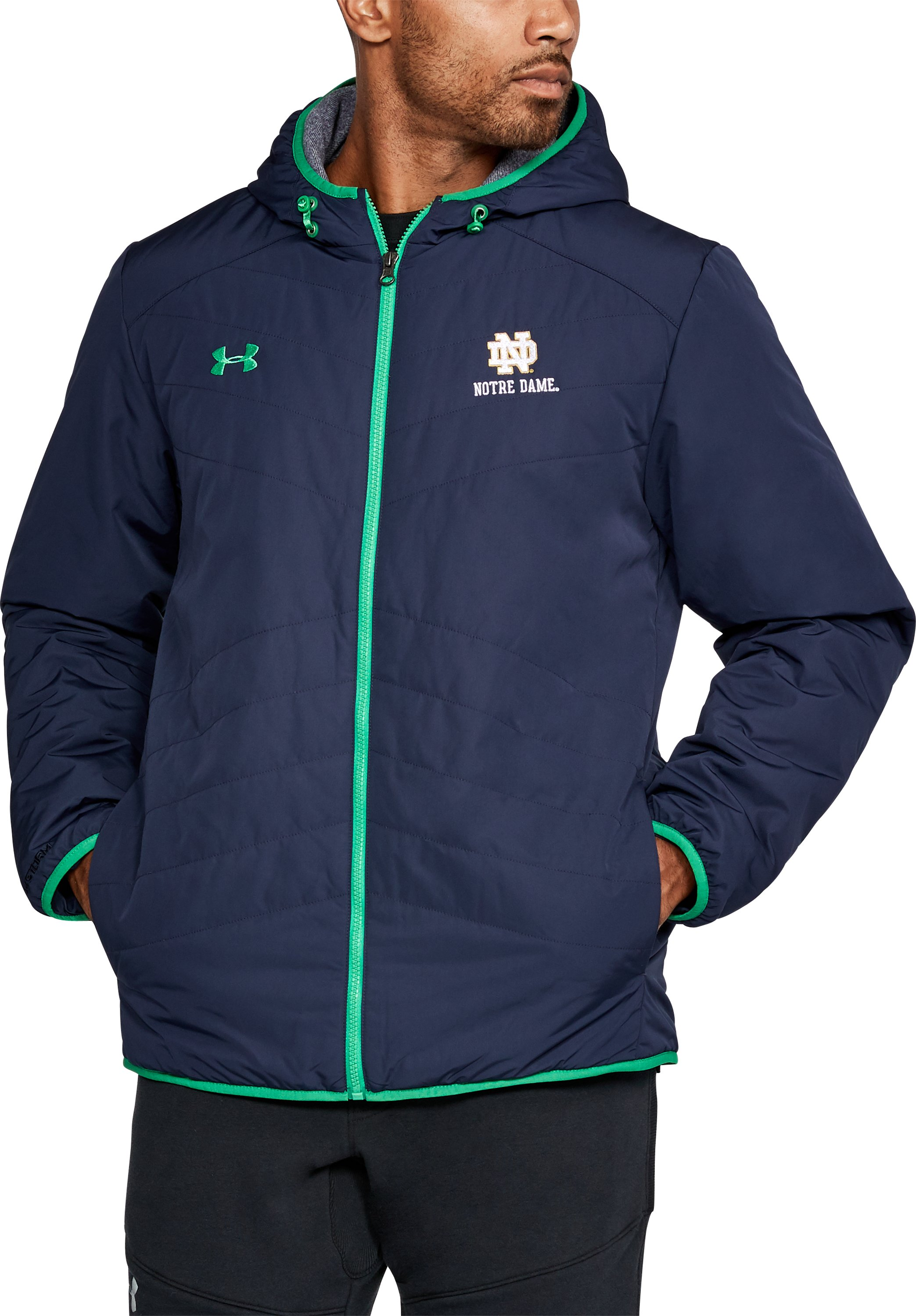 Men's Notre Dame Jacket, Midnight Navy, undefined