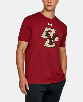 New Arrival Men's Boston College Charged Cotton® T-Shirt  1 Color $32.99