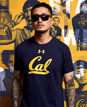 Men's Cal Bears Taps T-Shirt  1 Color $32.99