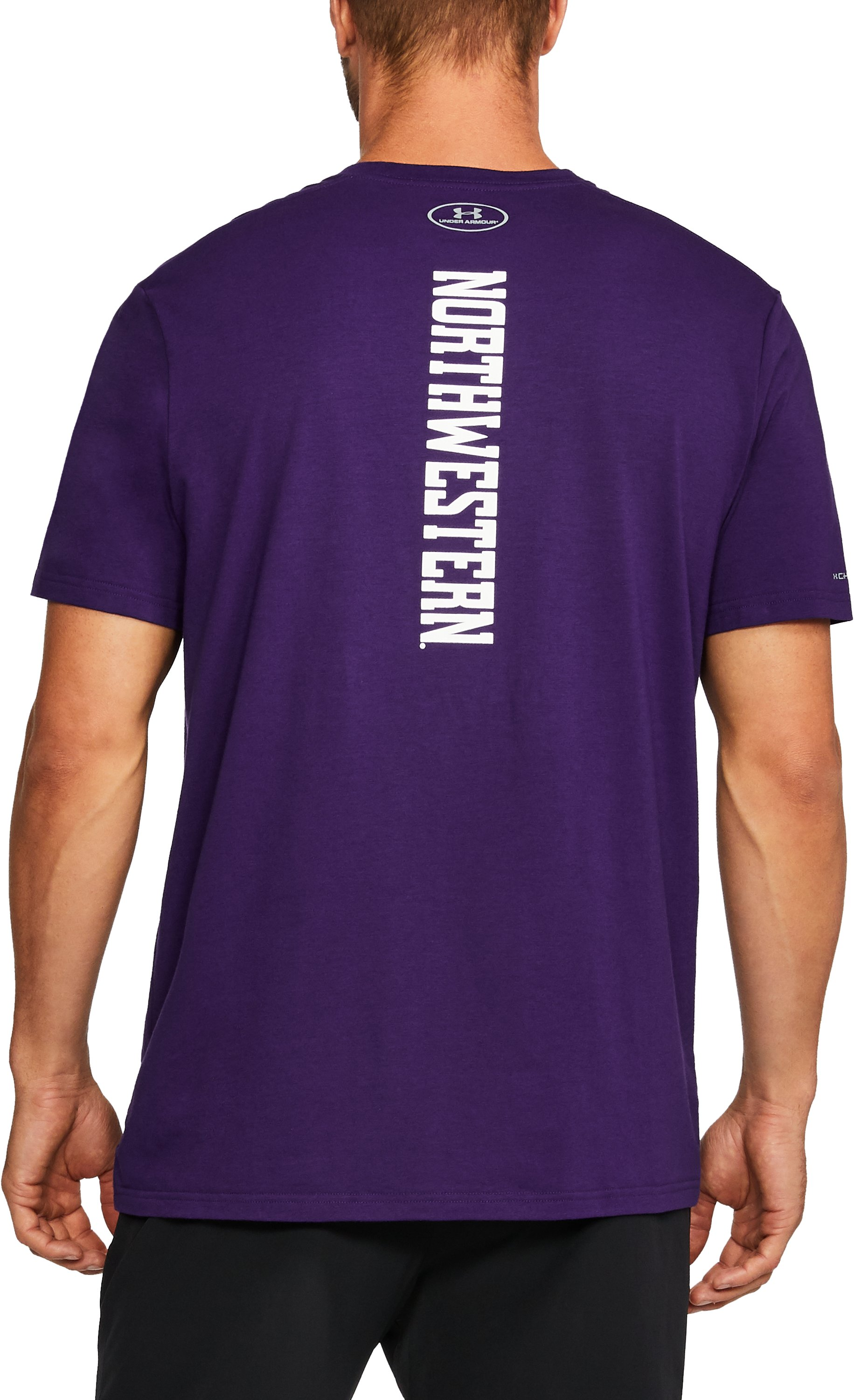Men's Northwestern Charged Cotton® T-Shirt, Purple