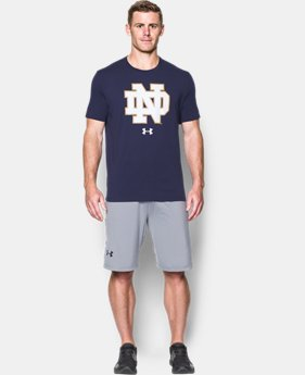 Men's Notre Dame Charged Cotton® T-Shirt  1 Color $32.99