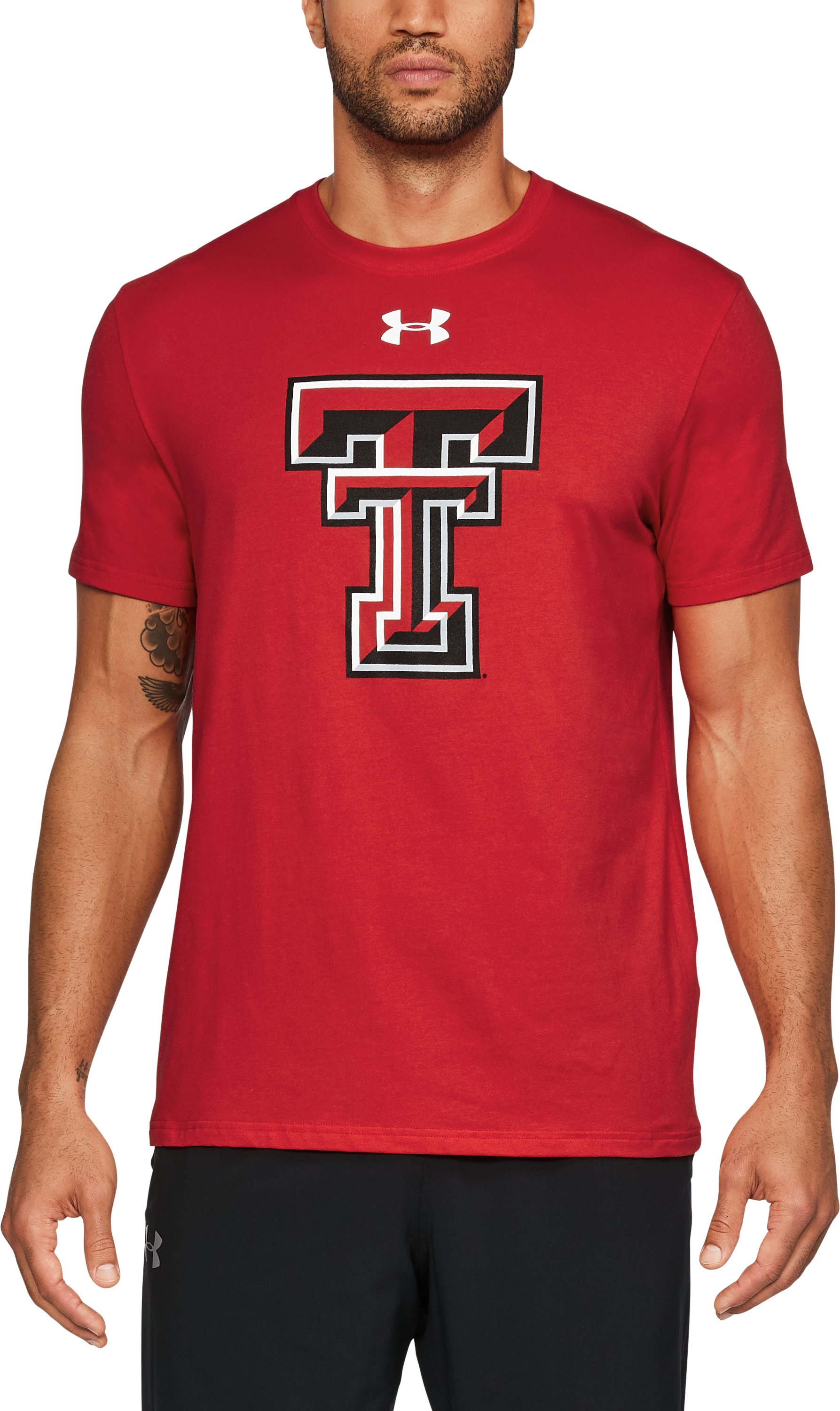 Men's Texas Tech Charged Cotton® T-Shirt, Red