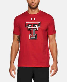 Men's Texas Tech Charged Cotton® T-Shirt  1 Color $32.99
