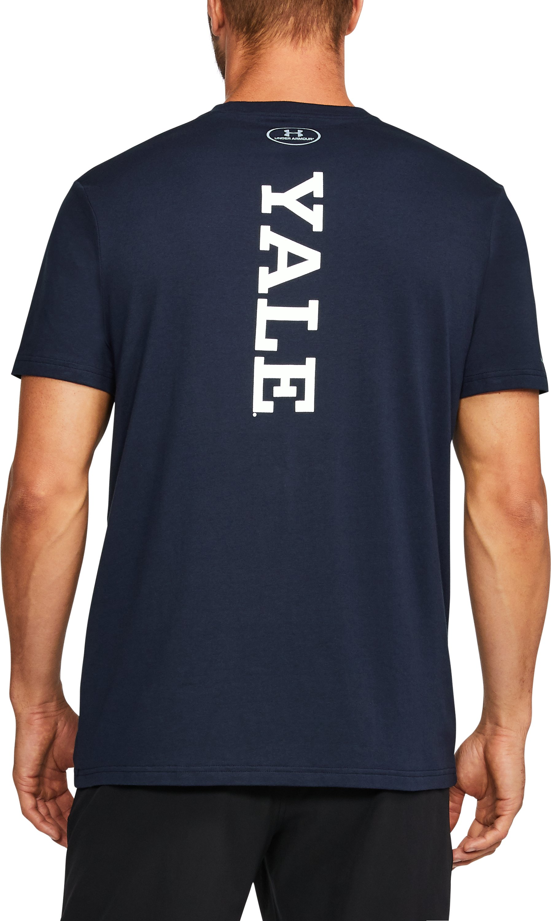 Men's Yale Charged Cotton® T-Shirt, Midnight Navy,