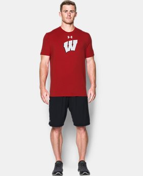Men's Wisconsin Charged Cotton® T-Shirt  1  Color Available $32.99