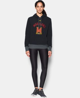 Women's Maryland UA Cropped Hoodie  1 Color $69.99
