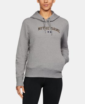 Women's Notre Dame UA Cropped Hoodie  1 Color $52.99