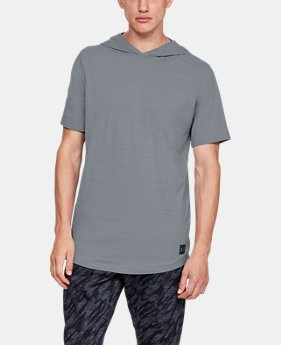 New Arrival  Men's UA Sportstyle Short Sleeve Hoodie  1  Color Available $55