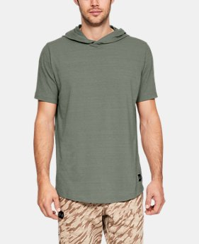 Men's UA Sportstyle Short Sleeve Hoodie  4  Colors Available $45