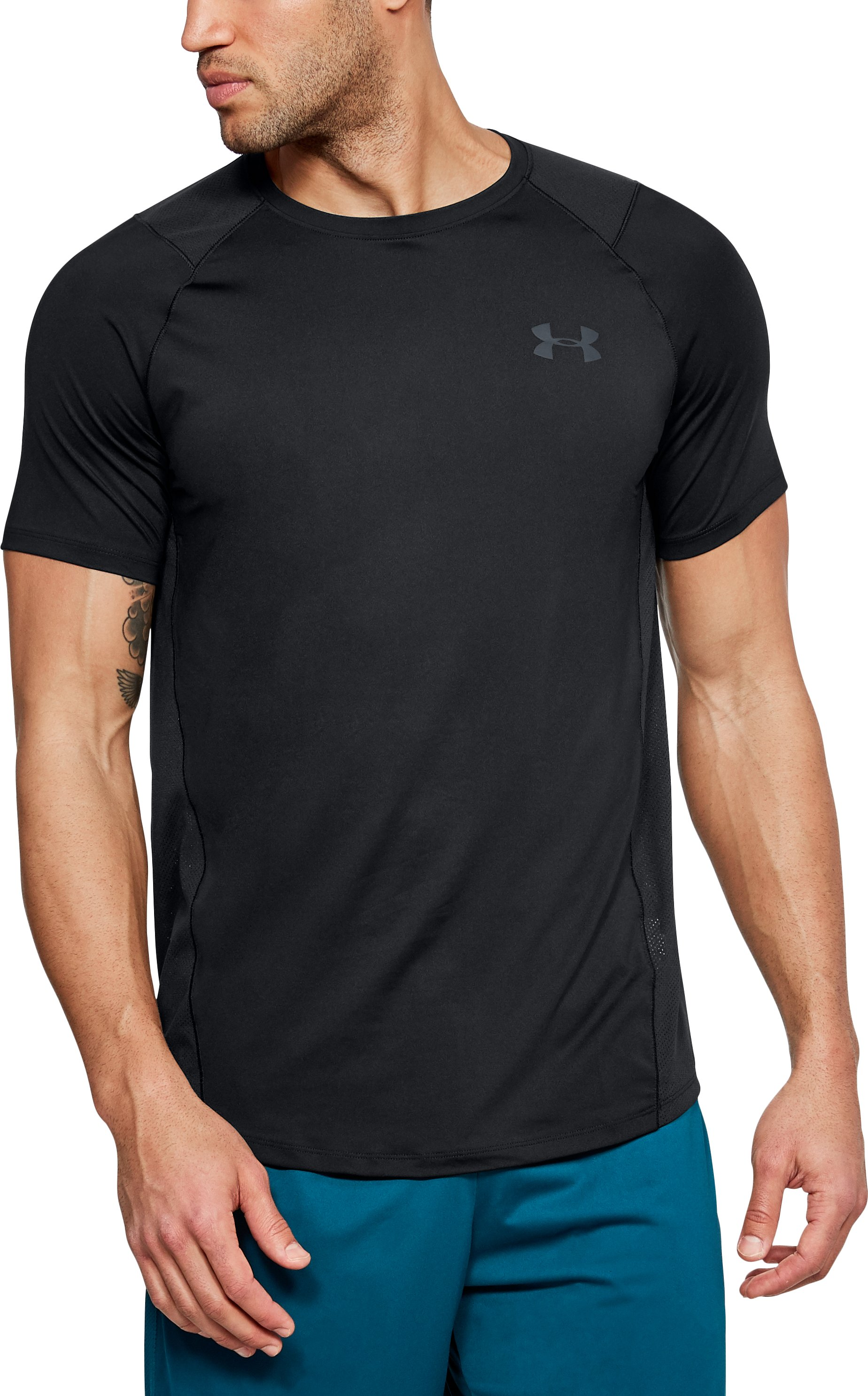 Men's UA MK-1 Short Sleeve, Black ,