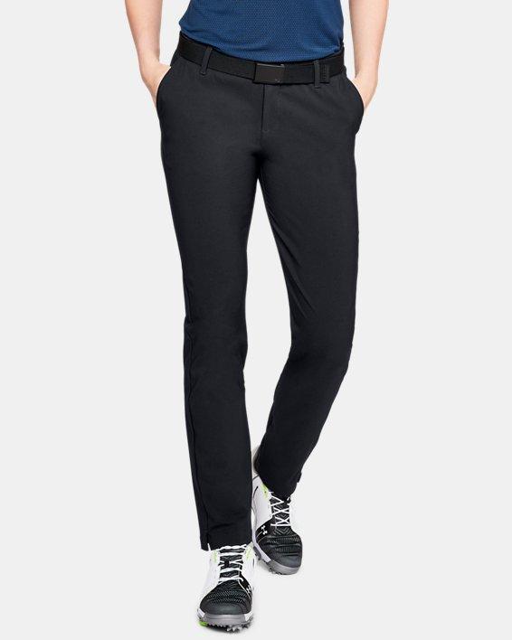 Women's ColdGear® Infrared Links Pants, Black, pdpMainDesktop image number 0