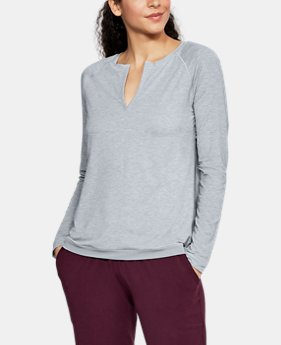 Women's Athlete Recovery Sleepwear Henley  3  Colors Available $70