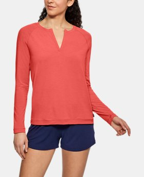 Women's Athlete Recovery Sleepwear Henley  3  Colors $60