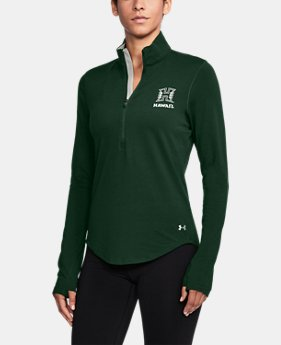 New Arrival Women's Hawaii Charged Cotton® ¼ Zip  1 Color $59.99