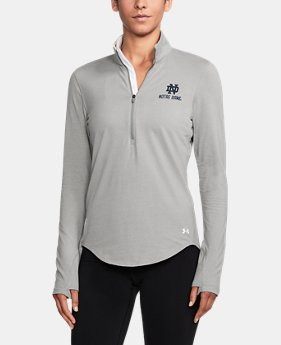 Women's Notre Dame Charged Cotton® ¼ Zip  1  Color Available $59.99