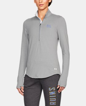 Women's UCLA Charged Cotton® ¼ Zip  1  Color Available $59.99