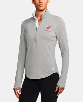 New Arrival Women's Wisconsin Charged Cotton® ¼ Zip  1 Color $59.99