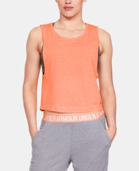 Women's UA Vanish Seamless  Spacedye Tank  2  Colors Available $40
