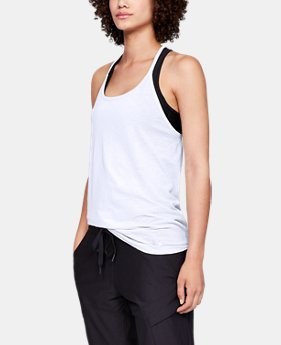New Arrival Women's UA Vanish Seamless Spacedye Strappy Tank FREE U.S. SHIPPING 1  Color Available $40