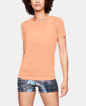 Women's UA Vanish Seamless  Spacedye Short Sleeve  1  Color Available $40