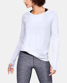 Women's UA Vanish Seamless Spacedye Long Sleeve  1  Color Available $50