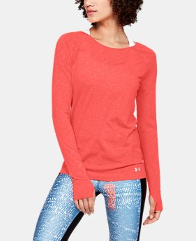 New Arrival Women's UA Vanish Seamless Spacedye Long Sleeve  1  Color Available $50